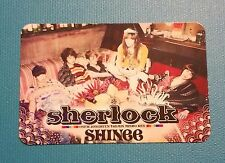 SHINee Sherlock Japan Group photocard (OFFICIAL)