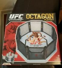 UFC OCTAGON PLAYSET SERIES 1 MISB FOR ACTION FIGURES JAKKS PACIFIC NEW Ring Cage