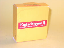 Kodachrome 25 - vintage unexposed Super 8 movie film cartridge with Box
