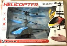 Infrared Induction Helicopter Drone Flying Remote Control USB Mini Blue WORKS!