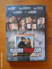 DVD MAXIMORIESGO.COM (PURPOSE) - JOHN LIGHT - MIA FARROW (K6)