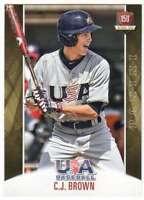 2015 Panini USA Baseball National Team Card #52 C.J. Brown
