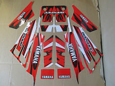 YAMAHA  BANSHEE  GRAPHICS  RED WHITE  YFZ350
