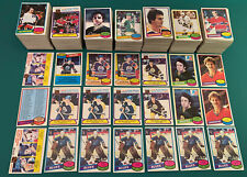 Massive 1980-81 OPC O-Pee-Chee Lot, approximately 850 cards, RC, Stars ++