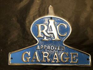 RAC Aluminium Plaque - Cast aluminium RAC sign