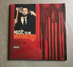Eminem/Music To Be Murdered By/Red Splatter Vynil/Exclusive Eminem Store (2 LP)
