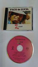 PACO DE LUCIA - ZYRYAB CD Unplayed Chick Corea