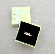 Anillo de cajas de regalo con arco 6 Colores para Elegir Libre P&P