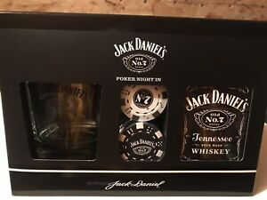 Jack Daniels Poker Night In Gift Set BN Christmas Birthday Present