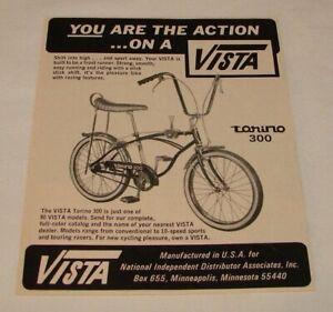 1968 bicycle ad ~ VISTA TORINO 300