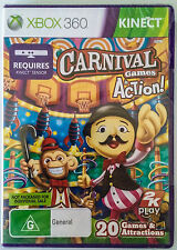 Karnival Games In Action xbox 360 kinect Brand New.