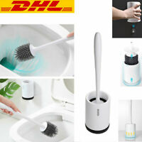 Silikon antibakterielle Toilettenbürste Klobürste Halter Wc Bürste bürste DHL