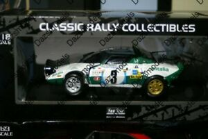 SunStar Lancia Stratos HF Rally Safari 1975 S.Munrai 1:18 Scale 4566