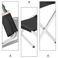 1 Pc Folding Chair Portable Stool Chair Outdoor Seat Chair for Camping Fishing