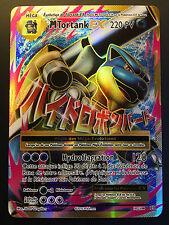 Carte Pokemon M TORTANK 102/108 Mega EX Full Art XY12 Française NEUF