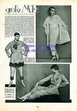 Pyjama mode rapport de 1929 20er Ans actrices FERARD Steels Mill MAYBAUM
