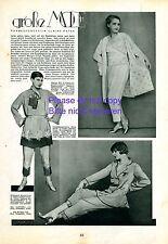 Pyjama Mode Bericht 1929 20er Jahre Schauspielerinnen Ferard Steels Mill Maybaum