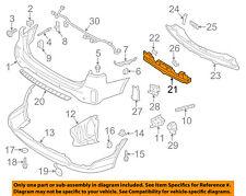 KIA OEM 14-15 Sorento Bumper Face-Foam Impact Absorber Bar 866201U500
