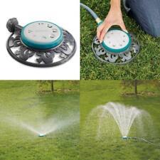 Stationary Sprinkler 8-Pattern Durable Lawn Garden Watering Tool - 1,225 Sq Ft.