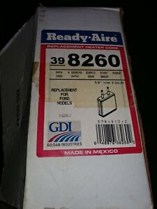 NOS Ready-Aire 398260 Heater Core For Ford In Box
