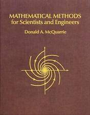 Mathematical Methods for Scientists and Engineers by Donald A. McQuarrie (Paperback, 2003)