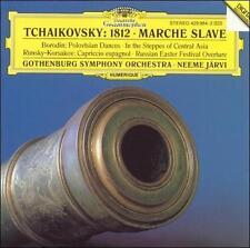"""Tchaikovsky: Overture """"1812""""; Marche slave; Borodin: In the Steppes; Polovtsian"""