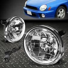 FOR 02-03 SUBARU IMPREZA CLEAR LENS FRONT BUMPER DRIVING FOG LIGHT LAMP W/SWITCH