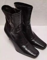 Studio Works Women's Black Ashley Boot Size 7.5 *EUC*