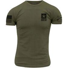 Grunt Estilo Ejército Camiseta básica - - Verde Militar