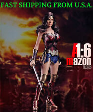 1/6 Wonder Woman Figure Full Set with Seamless Body For DC Toys  ❶USA IN STOCK❶
