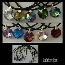 Necklaces x 10 Crystal Necklace Kids Party Prizes Favours luckydips Resell BULK