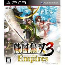 Samurai Warriors sengoku Musou PS3 Import Japan Samurai Warriors 3 Empires 01