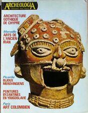 Archéologia n°90 - 1976 - Bijoux mérovingiens - Art colombien -Arts Ancien Iran