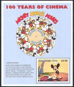 Maldives 1996 Disney/Mickey Mouse/Cartoons/AnimationFilms/Cinema 1v m/s (d00270)