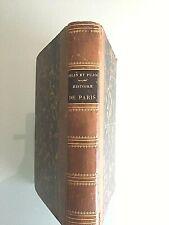 Histoire de Paris  J.L Belin & A. Pujol  Belin-Le prieur éditeur 1845