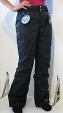 NEW - Women's Columba Black Ski Snowboard Omni Tech Pants - Size: Large