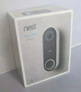 Google Nest Hello Smart Wi-Fi Video Doorbell NC5100US
