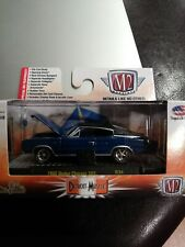 M2 Detroit Muscle 1966 Dodge Charger 383 R34 2016 BLUE
