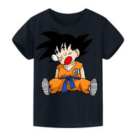 New Kids Cartoon Dragon Ball 3D Print T-shirt Children Anime Tops & Shirt