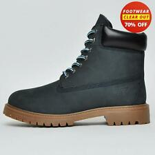 Red Tape REAL LEATHER Buckland Mens Nubuck Leather 6 Inch Ankle Boots Navy