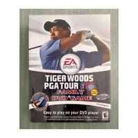 EA Sports Tiger Woods PGA Tour Family DVD Game NEW SEALED