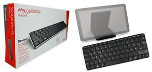 Microsoft Wedge Mobile Bluetooth, Tastatur, Neu Offen Box Deutsche Lag