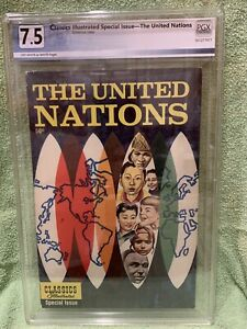 Classics Illustrated Special NN The United Nations PGX 7.5 Off White To White