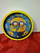 Despicable Me Minion Talking Wall Clock By Universal