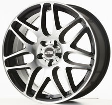 "20"" JBW ROGUE BLACK MACHINED FACE ALLOY WHEELS+TYRES TO FIT VW TOUAREG"