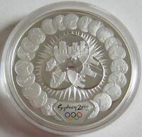 Australien 5 Dollars 2000 Olympia Sydney Industrie & Technologie 1 Oz Silber
