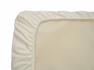 Naturepedic Organic Cotton Cradle Fitted Sheet, Ivory
