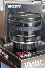 Vivitar 19mm f/3.8 Lente Per Minolta MD
