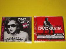 "LOT DE 2 CD DAVID GUETTA "" ONE MORE LOVE "" ""NOTHING BUT THE BEAT 2 CD """