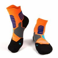 Professional Compression Men Socks Sweat Absorb Non Slip Sock Sport Running Gym